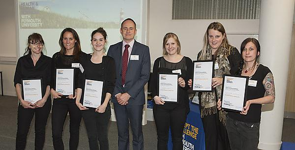 Nursing and Midwifery Challenge 2014 award winners