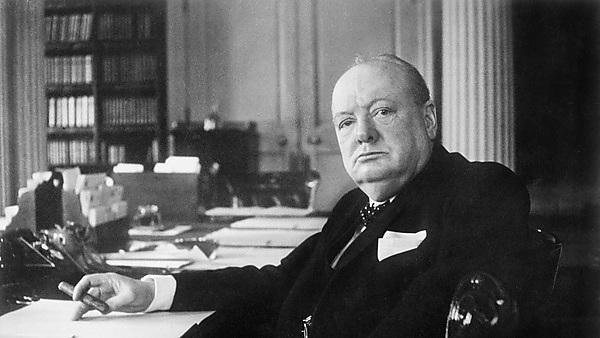 Winston Churchill As Prime Minister 1940-1945. Image credit: Cecil Beaton [Public domain], via Wikimedia Commons