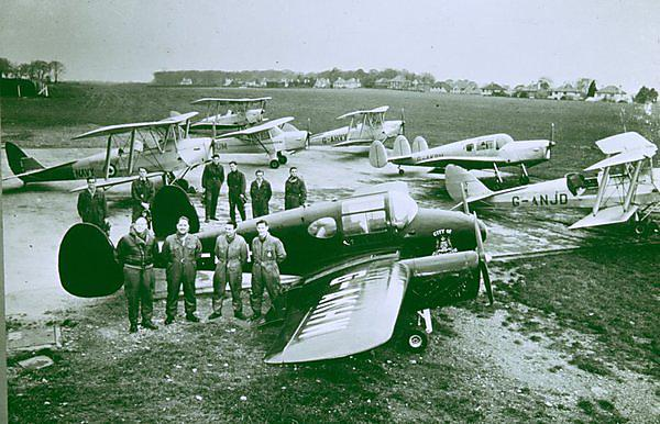 Plymouth Flying Club 1960s (image: Clive Charlton)