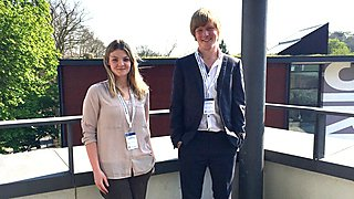 Students Hannah Burns and Luke Basford present to international audience at British Conference of Undergraduate Research