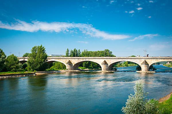 Bridge over Loire Valley, France (shutterstock_109233011)