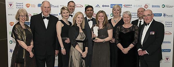 Partnership initiative wins dementia accolade