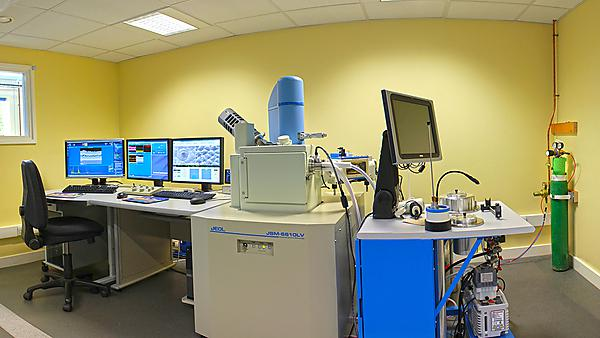 Facilities at Plymouth Electron Microscopy Centre