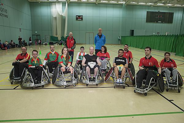 Westcountry Hawks wheelchair rugby