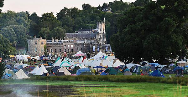 Students gain experience at Port Eliot Festival
