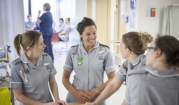 Degree Apprentices: Adult Nursing (Plymouth) 2018–2019