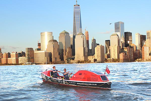 Ocean Valour training in the Hudson river-New York ©Ocean Valour