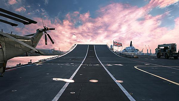 Royal Navy Aircraft Carrier. Horizon briefing papers. Image courtesy of Shutterstock