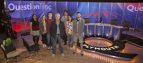 Media Arts students go behind the scenes of Question Time