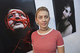 Media Arts student Sabrina Potter