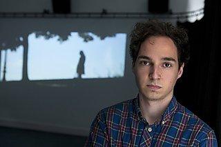 Media Arts student Josh Newport