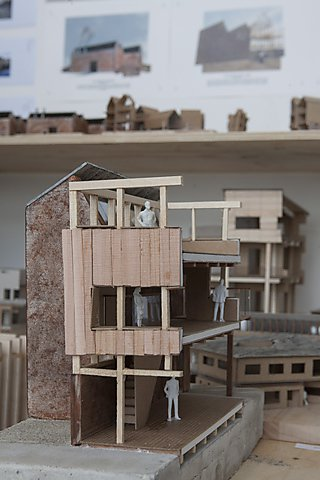 The work of Architecture student Oliver Millett