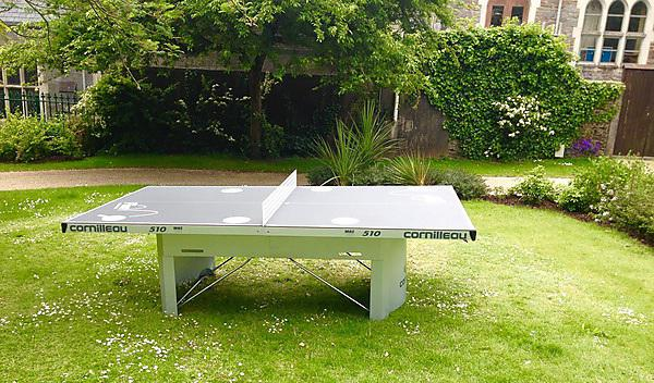 Table tennis table in Drake's Place Gardens (Ping! in the Park)