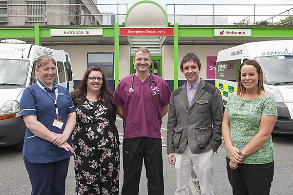 The research team from Plymouth Hospitals NHS Trust and Plymouth University