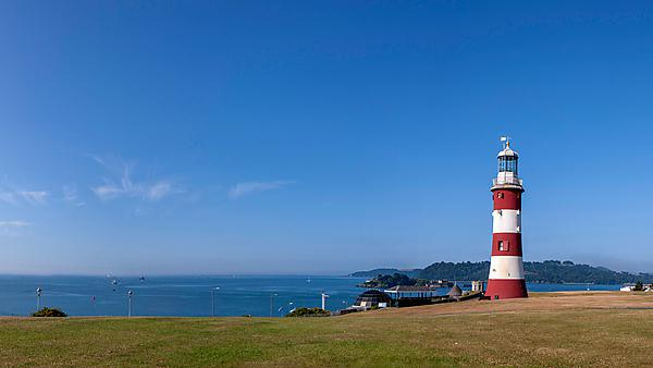Smeatons Tower on Plymouth Hoe
