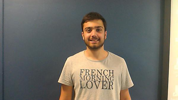 International student profile - Maxime Rocher