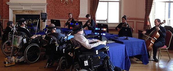 Computer interface helps disabled patients