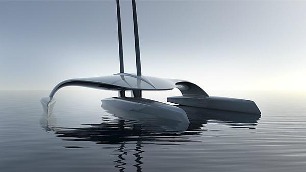 Mayflower Autonomous Ship - Daylight sketch | Image credit: Shuttleworth Design