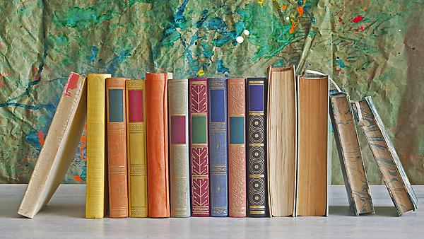 Books courtesy of Shutterstock