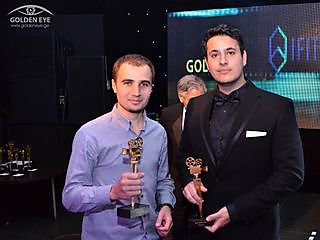 to receive the award for Best Student Film