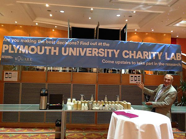 Plymouth Charity Lab at the Institute of Fundraising's National Convention 2015