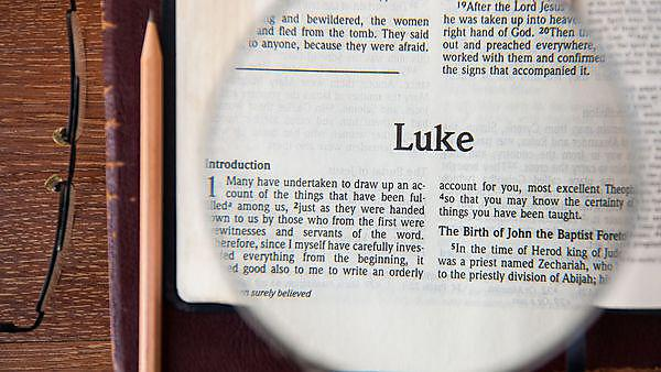 Luke's gospel as performed by Bruce Kuhn