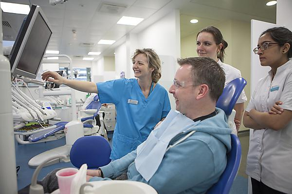 Almost all patients would recommend treatment by our dental students to friends and family
