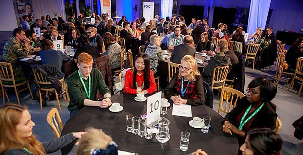 An example of a successful business networking event at Plymouth University earlier this year
