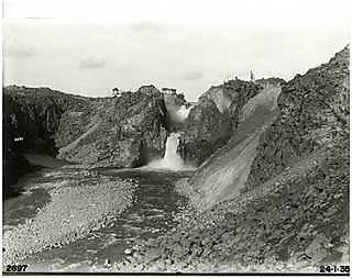 A further erosion event took place on 23 March, 1934