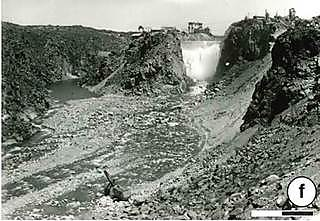 By the fourth event on 4 March, 1935 the level of erosion was clear to see