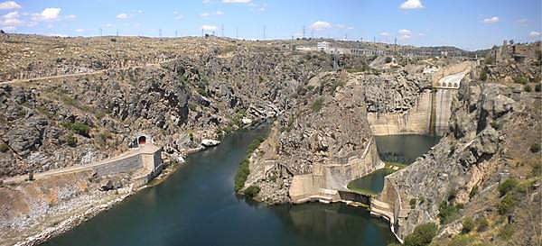 The Ricobayo Dam in North West Spain (image credit: Iberdrola)