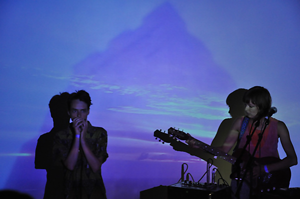 Live performance and film screening of 'Red Route Raves on Empty Roads' by Das Hund