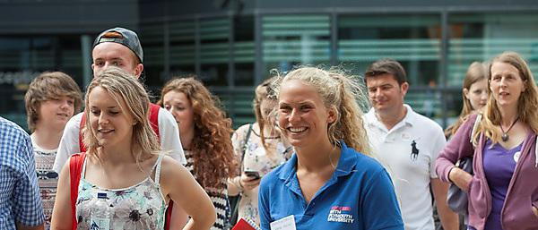 Busy crowds at last year's undergraduate Open Day