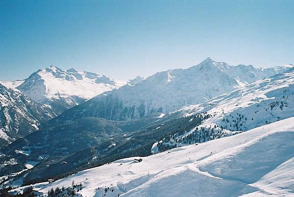Soelden in Austrian Alps