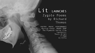Poetry launch on 7.30pm, Thursday 22 October 2015, Plymouth Social Club