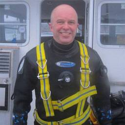 Dr Keiron Fraser Academic Diving Manager